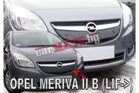 Зимен дефлектор (протектор) за решетка HЕКО за Opel Meriva B (2014-2017)