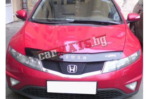 Дефлектор за преден капак Vip Tuning за Honda Civic (2006-2011) - Хечбек