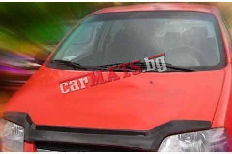 Дефлектор за преден капак Heko за Chevrolet Aveo (2004+) - Дизайн 2