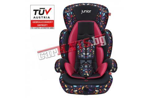 Детско столче за кола Petex Junior - Comfort Hameleon