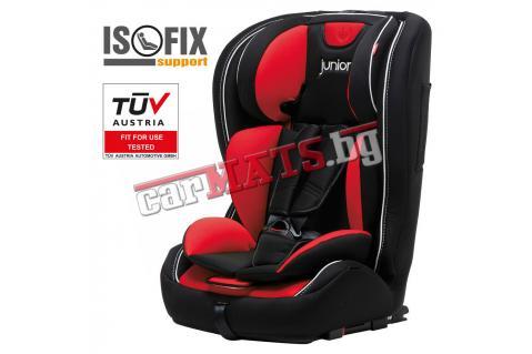 Детско столче за кола Petex Junior - Premium Plus Red