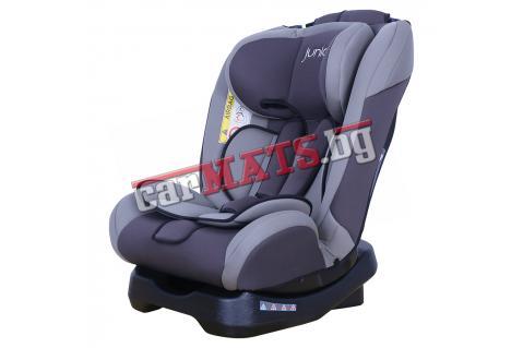 Детско столче за кола Petex Junior - Supreme - сив цвят