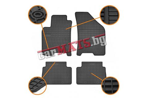 Гумени стелки Frogum за Mazda 2 (2002-2012)
