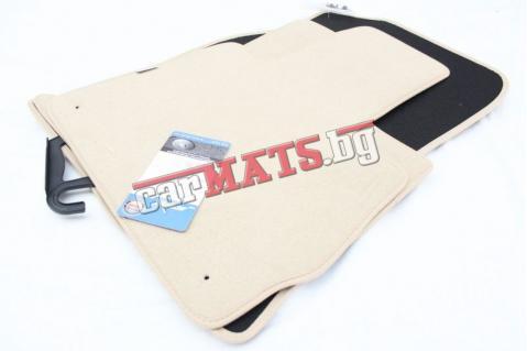 Мокетни стелки Petex за BMW X5 E53 (1999-2006) - Бежови