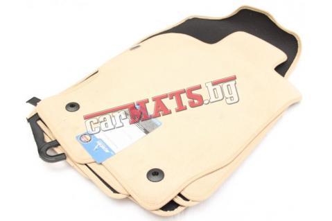 Мокетни стелки Petex за Mazda 6 (2008-2013) - Бежови