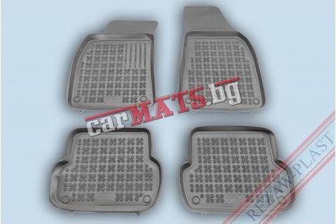 Гумени стелки Rezaw-Plast за Audi A4 B6 (2000-2007) - тип леген - Сив