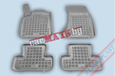 Гумени стелки Rezaw-Plast за Audi Q5 (2008+) - тип леген - Сиви