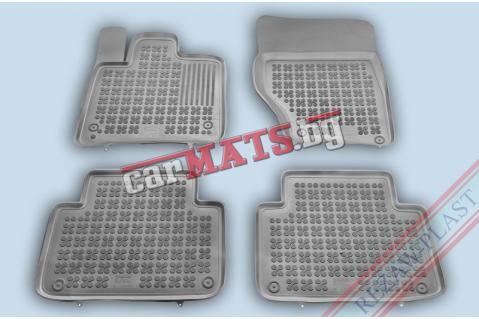 Гумени стелки Rezaw-Plast за Audi Q7-1 (2006-2014) - тип леген - Сиви
