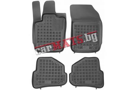 Гумени стелки Rezaw-Plast за Audi A1 (2012+) - тип леген - pre facelifting / facelifting