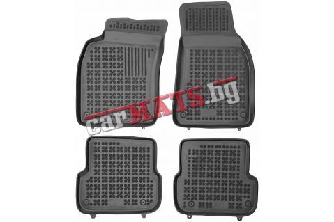 Гумени стелки Rezaw-Plast за Audi A6 C6 (2008-2011) - тип леген - facelifting