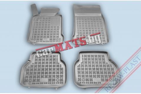 Гумени стелки Rezaw-Plast за BMW 5 Серия E39 (1994-2003) - тип леген - Сиви