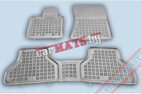 Гумени стелки Rezaw-Plast за BMW X5 E70 (2006-2013) - тип леген - Сиви