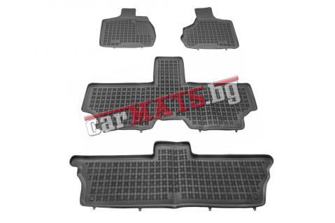 Гумени стелки Rezaw-Plast за Chrysler Voyager (2001-2006) - тип леген - 7 seats