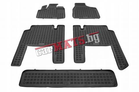 Гумени стелки Rezaw-Plast за Chrysler Voyager (2006+) - тип леген - 7 seats