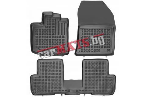 Гумени стелки Rezaw-Plast за Dacia Lodgy (2012+) - тип леген - 5 seats