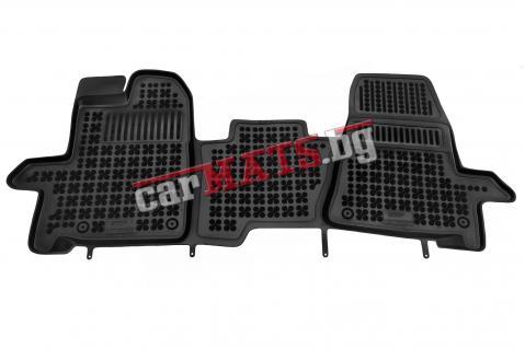 Гумени стелки Rezaw-Plast за Ford Transit Custom (2013+) - 3 места - тип леген