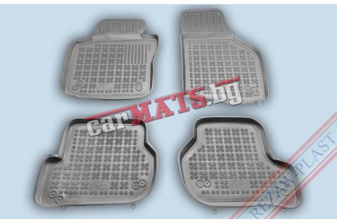 Гумени стелки Rezaw-Plast за Volkswagen  Jetta (2005-2010) - тип леген - Сиви