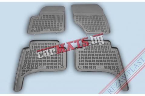 Гумени стелки Rezaw-Plast за Porsche Cayenne 1 (2002-2010) - тип леген - Сиви