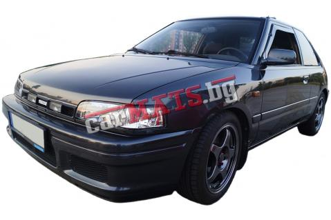 Ветробрани HEKO за Mazda 323 (1990-1994) - 3D