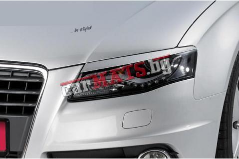 Вежди за фарове за Audi A4 B8 (2008+) - EU
