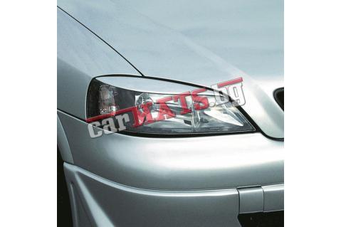 Вежди за фарове за Opel Astra G (1998-2004) - Германия - Черни