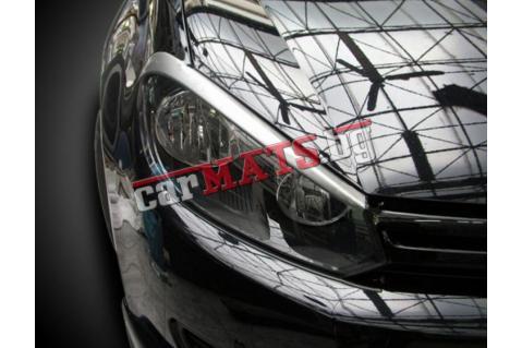Вежди за фарове за VW Golf 6 (2008–2013) - EU - Черни